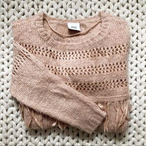 Mamalicious Tassel Fringe Maternity Sweater